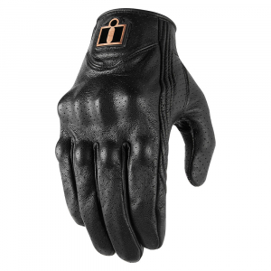 GUANTES ICON PURSUIT CLASSIC PERF - BLACK