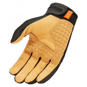 GUANTES ICON AIRFORM BLACK/TAN